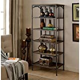 Furniture of America Madeline VII 5 Shelf Bookcase - Best Reviews Guide