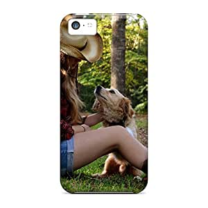 Durable Defender Case For Iphone 5c Tpu Cover(listen Carefully)
