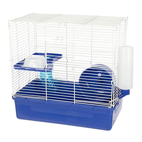 Ware Manufacturing Home Sweet Home 2 Story Hamster Cage - Colors May - 2 Hamster Level