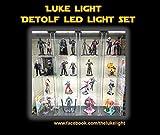 Luke Light LED light Kit for Ikea Detolf - Bright White Tone