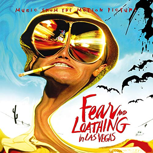 Fear & Loathing In Las Vegas (Original Soundtrack)(180gm Black Vinyl,Gatefold Sleeve, Laser Etched D-side, Ltd Fold-out Poster) (Fear And Loathing In Las Vegas Original)