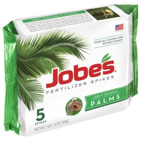 ertilizer Spikes 10-5-10 Time Release Fertilizer for All Outdoor Palm Trees, 5 Spikes Per Package ()