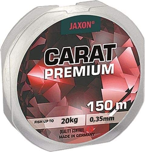 150 m, bobina de 0,10 mm a 0,45 mm, monofilamento Jaxon Carat Premium Sedal de pesca