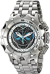 Invicta Men's 16802 Venom Analog Display Swiss Quartz Silver Watch