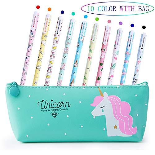 Lhasam Unicorn Stationery Pencil Case