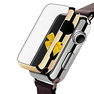 For Apple Watch Series 1 42mm Case, Gotd Super Thin PC Plated Plating Protective Bumper Case for for Apple Watch 42mm Series 1