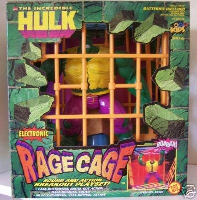 Amazon.com: Electronic Hulk Rage Jaula Playset: Toys & Games