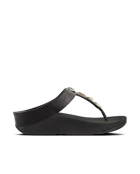 73d8b5bbe0009 Fitflop Women s Roka Toe-Thong Platform Sandals  Amazon.co.uk  Shoes ...
