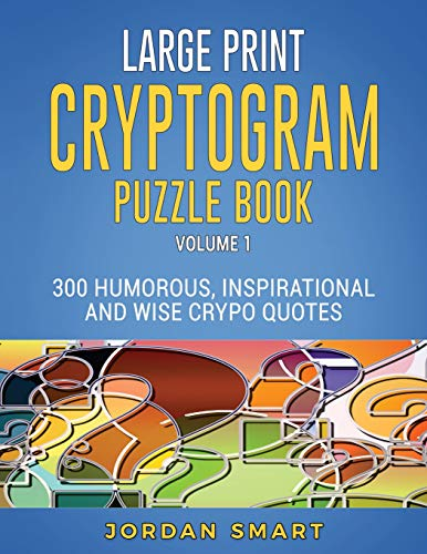 Cryptoquote Puzzles Large – Daily Motivational Quotes