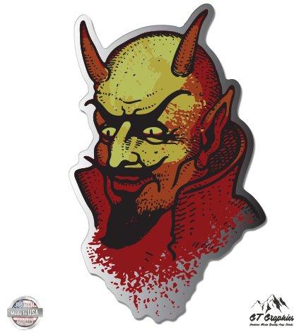 GT Graphics Devil Satan Evil Occult Vinyl Sticker Waterproof Decal