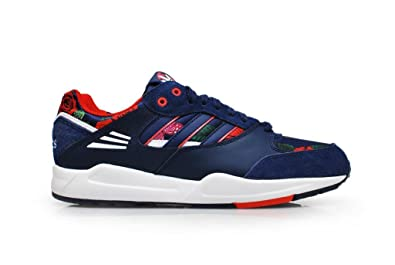 adidas Basses Femme - Bleu - Night Sky Red White, 39.5 EU