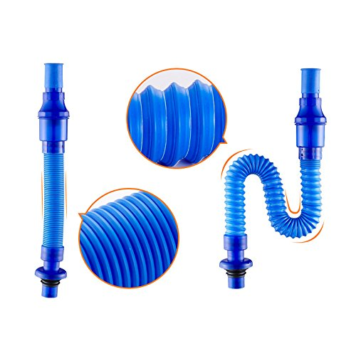 Rozin Sink Drain Connected Expandable & Flexible Downwater Pipe P-trap