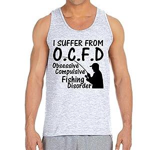 Men's O.C.F.D Ash Grey Tank Top (XX Large)