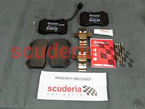 [해외]마 세라 티 980156007 후면 패드 키트 정품 OEM 부품 지브리 쿼 트로 포 르 트에 적합 / Maserati 980156007 Rear Pads Kit Genuine OEM Part Fits Ghibli Quattroporte