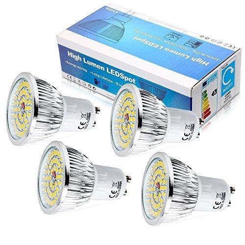 Gu10 6W Led Light Bulbs - 4
