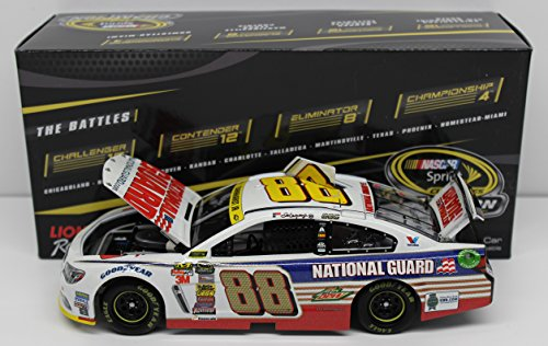 Lionel Racing Dale Earnhardt Junior #88 National Guard Chase for the Cup 2014 Chevy SS NASCAR ARC HOTO Die Cast Car (1:24 Scale) (National Guard Diecast)