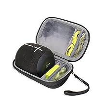 VIVENS Hard Travel Case Bag for Ultimate Ears UE WONDERBOOM Waterproof Bluetooth Speaker