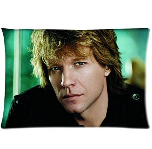 Personalized Custom Two Sides Printed Jon Bon Jovi for 2030 Inches Zippered Pillow Case Cover -