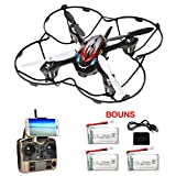 F180W FPV Drone Including 4 Batteries