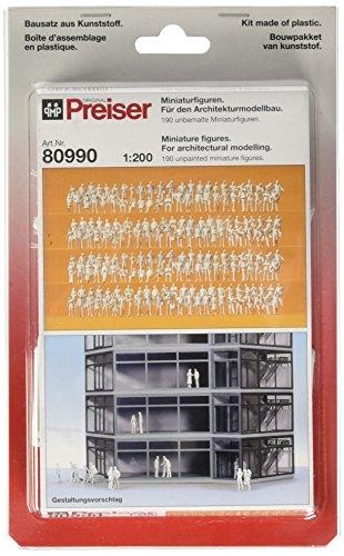 Preiser 80990 Pedestrians Assorted Unpainted Figures 1/20...