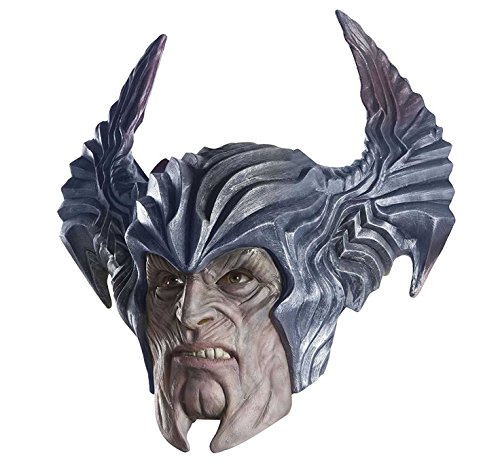 Grandmama Costume (Rubie's Costume CO. Men's Justice League Villain 1 Overhead Latex Mask, As Shown, One Size)