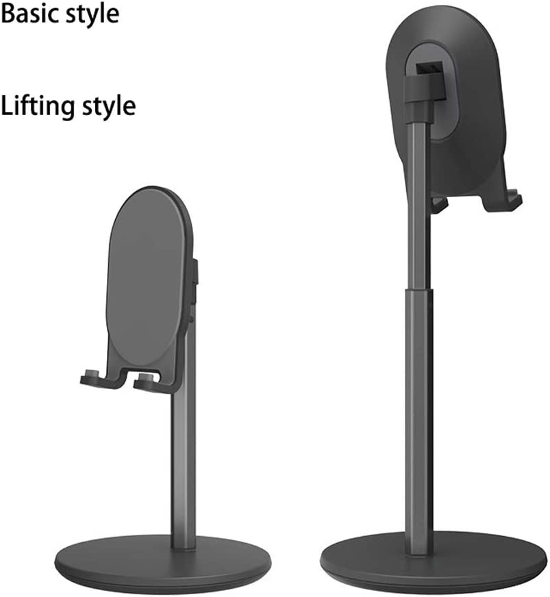 Lazy Mobile Phone Bracket Desktop Shelf Support Clip Learning Multifunctional Support Frame Mini Home Chase Cute Bedside Adjustable Lifting Mobile Phone Holder,for Tablet Smartpho P-KLL Phone Holder