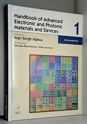 Semiconductors (Handbook of advanced electronic and photonic materials and devices) ebook