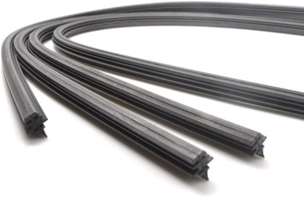 uxcell 26 Inch Windscreen Bracketless Wiper Blade Rubber Refill Strip for Teana Sylphy