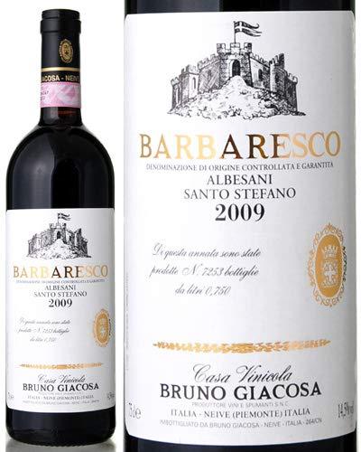 バルバレスコ サント ステファノ ディ ネイヴェ [2009] ブルーノ ジャコーザ (赤ワイン)  B07MZT3XXB