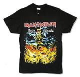 Iron Maiden Holy Smoke Mens Black T Shirt (M)