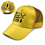 Best Buckin Grandpa Hats - Coollifea Best Buckin' Grandpa Ever Adjustable Ponytail Messy Review