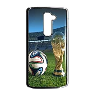 Durable Hard cover Customized TPU case World Cup 2014 LG G2 Cell Phone Case Black