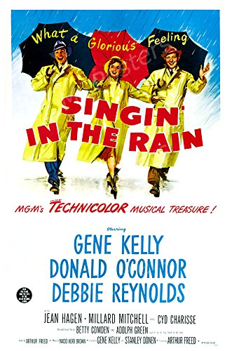 MCPosters - Singing in The Rain Glossy Finish Movie Poster - MCP454 (24