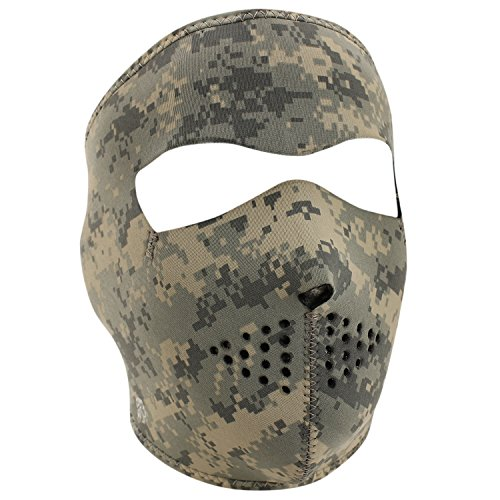 Zanheadgear Neoprene Full Face Mask, Digital ACU Camouflage