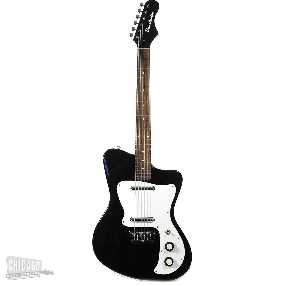 Danelectro D67HH-BLK - Guitarra eléctrica (pastillas magnéticas de bobinado simple, puente ajustable): Amazon.es: Instrumentos musicales