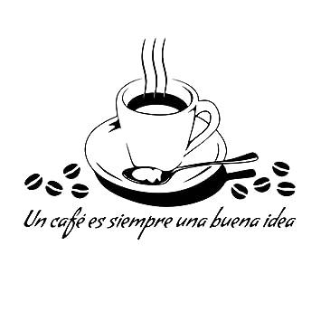Fablcrew Wand Aufkleber Kaffee Becher Wandtattoo Küche ...
