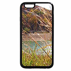 iPhone 6S / iPhone 6 Case (Black) Autumn Grass near the Lake