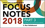 img - for Wiley CIAexcel Exam Review 2018 Focus Notes, Part 3: Internal Audit Knowledge Elements (Wiley CIA Exam Review) book / textbook / text book