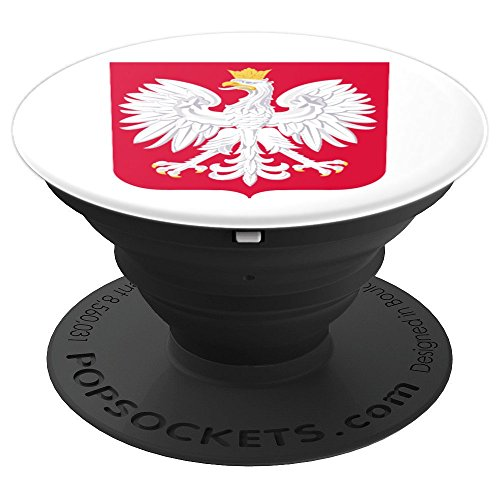 - Poland Coat of Arms Polish Flag Polska White Eagle - PopSockets Grip and Stand for Phones and Tablets