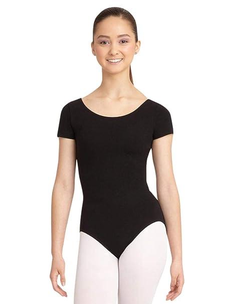 f4094b610 Capezio Women's Classic Short Sleeve Leotard at Amazon Women's ...