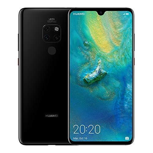 chollos oferta descuentos barato Huawei Mate 20 Pack de funda y smartphone de 6 53 Kirin 980 4GB RAM 128GB memoria cámara de 20 MP Android 9 0 Negro Versión ES PT Exclusivo Amazon