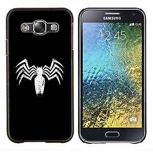 EJOOY---Cubierta de la caja de protección para la piel dura ** Samsung Galaxy E5 E500 ** --Minimalista Araña