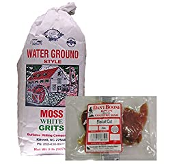Moss Water Ground White Grits and Dan\'l Boone Country Ham