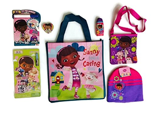 doc-mcstuffins-hat-bundle-stocking-cap-disney-shampoo-purse-wooden-doll-storybook