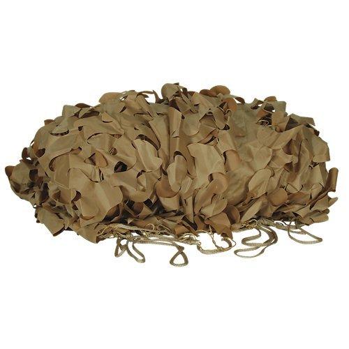 VooDoo Tactical Mil-Spec Leaf-Cut Netting, Desert Camo, 10' x 10'