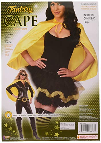 Forum Novelties Fantasy Cape, Yellow -