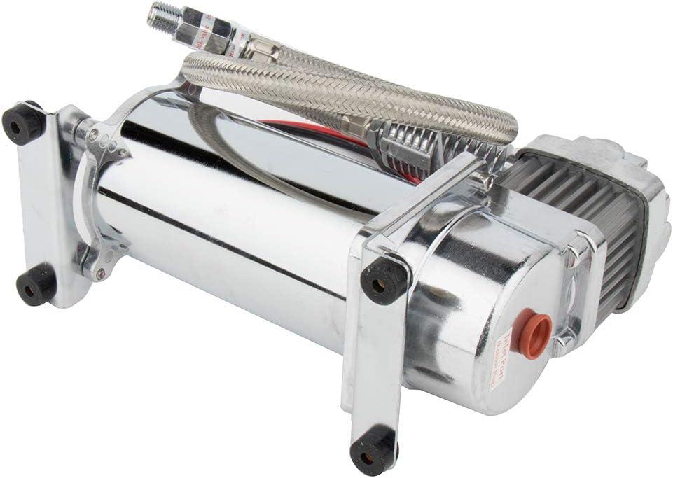 Aintier 12V Silver 150PSI Heavy Duty Air Compressor with 3//8 Hose for Trucks SUV Boats Train RV