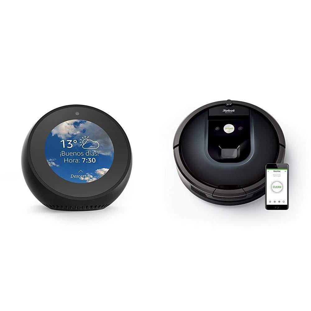 Amazon Echo Spot + iRobot Roomba 981 compatible con Alexa