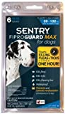SENTRY FiproGuard Max Dog Flea and Tick Squeeze-On 89-132lb 6 month, My Pet Supplies