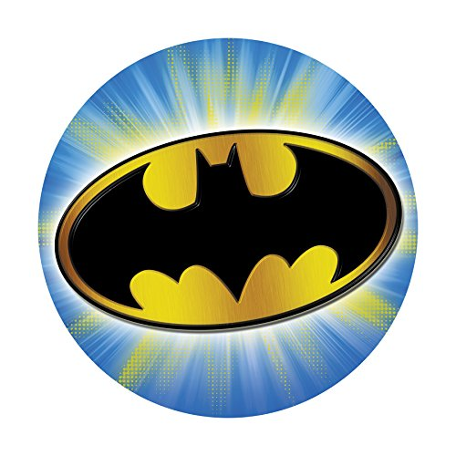 DC Comics' Batman Projectables Collector's Edition Plug-In Night Light, 14536, Bat Signal Image Projects Onto Wall or Ceiling